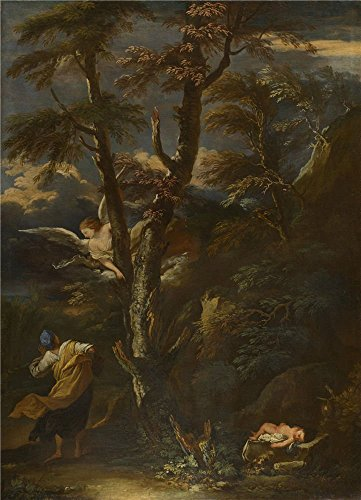 The Polyster Canvas Of Oil Painting 'After Salvator Rosa An