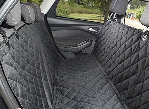 Pet Seat Cover Car Seat Covers For Pets, Dog & Cat Seat Cover Waterproof, Scratch Proof, Nonslip Backing & dog Hammock, Padded, Machine Washable Seat Cover Dog seat harness & leash