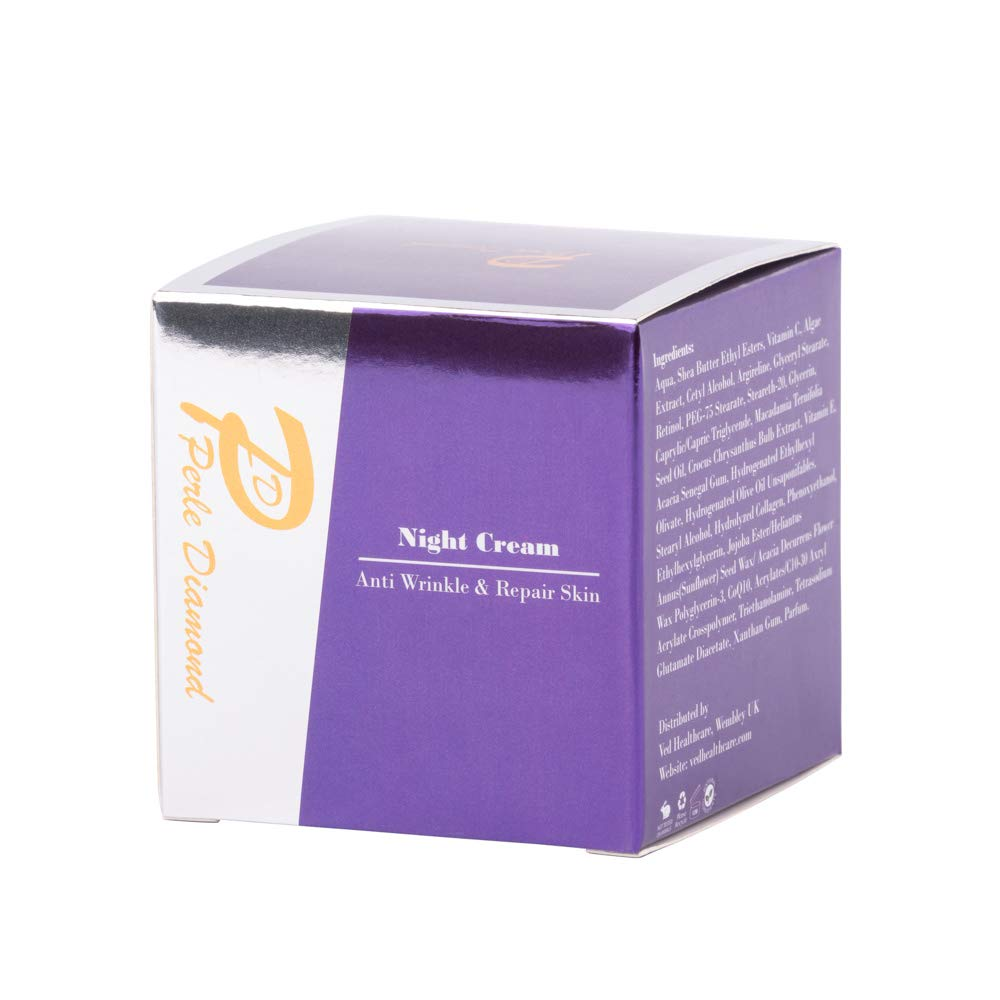 Perle Diamond Night Cream - Crema de noche (50 g, nueva edición de Perle Bleue): Amazon.es: Belleza