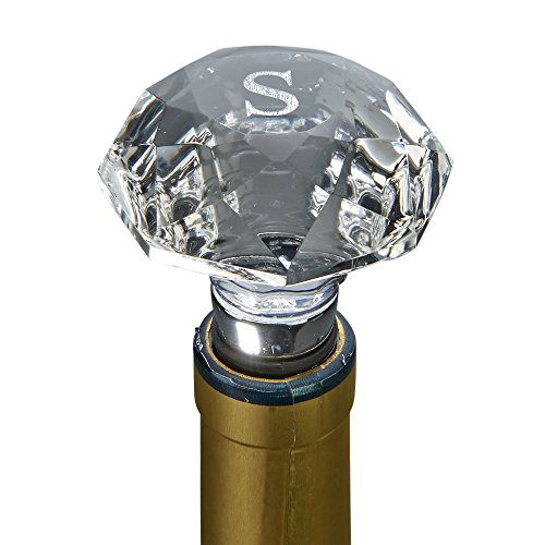 - Clear Optic Crystal Bottle Stopper