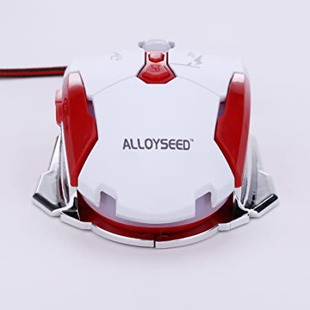 Allo yseed k1015 USB - Cable Gaming Mouse Buttons Rojo.: Amazon.es ...