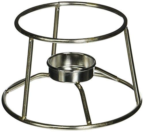 - American Metalcraft CIFDR Stainless Steel Fondue Pot Stand, 5-Inch Diameter