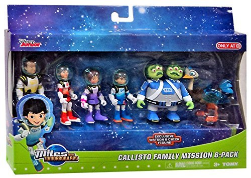 Miles from Tomorrowland Callisto Family Mission 6pk Figure Set -