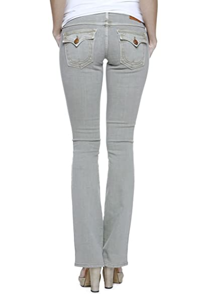 True religion Mujer Jeans Flare Leg Becky Lone Star Tradi Wash PX Sage, color: Beige beige W28: Amazon.es: Ropa y accesorios
