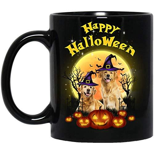 Funny Golden Retriever Dog Happy Halloween Dog Lovers