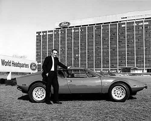 1972 DeTomaso Pantera & Alejandro DeTomaso Factory Photo