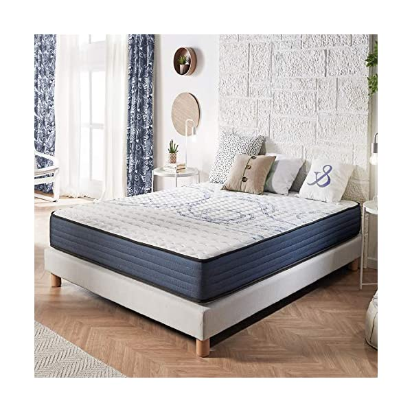 Naturalex | Perfectsleep | Materasso Matrimoniale King 180x200 cm Memory e Lattice Multi Densità | Supporto Adattato… 1 spesavip