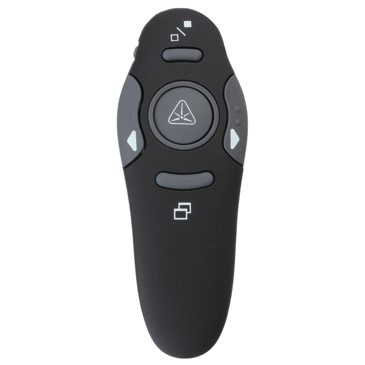 Wireless Presenter Remote Control - Presenter Remote Control -E52.4GHz Wireless Remote Control Presenter Presentation USB Laser Pointer Pen Receiver-( Wireless Presenter Pointer )