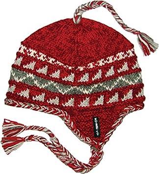 Everest Designs Boys 10234 Kids Sherpa Earflap Hat Red One Size everest-designs 10234-K