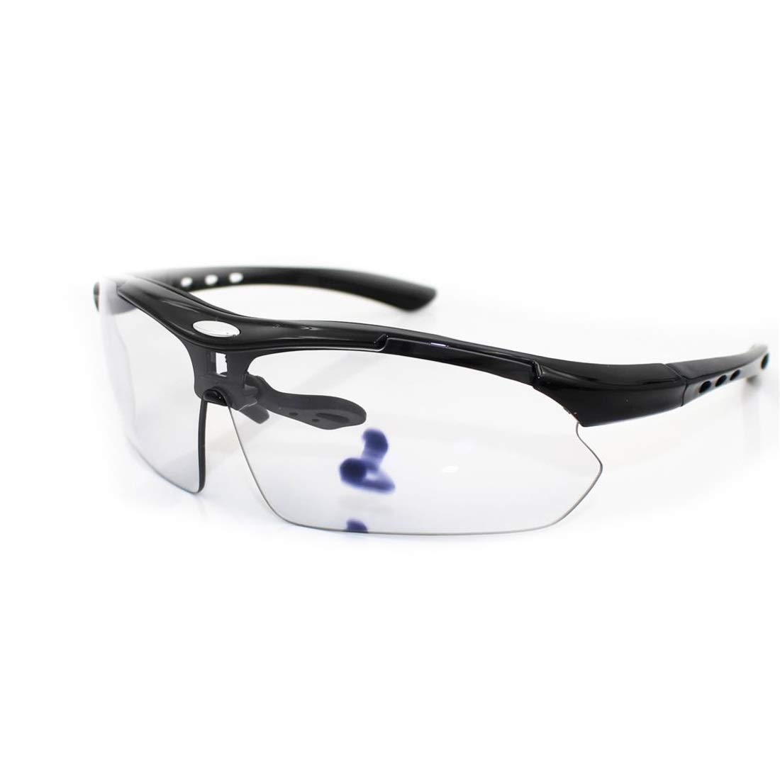 BAOYIT Riding Glasses Night Vision Fishing Mountaineering Running Sports Glasses Men and Women Color Changing Lens (Color : B) by BAOYIT
