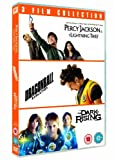 Percy Jackson and the Lightning Thief / Dragonball: Evolution / The Dark is Rising Triple Pack [DVD] [2007]