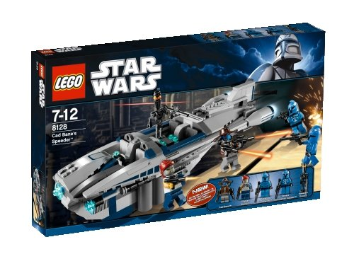 LEGO Star Wars Cad Bane's Speeder 8128