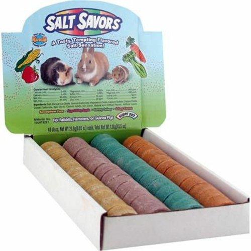 Super Pet 61158 Salt Savor Counter Dis SALT SAVORS MINI 48pc COUNTER DISPLAY BC274948