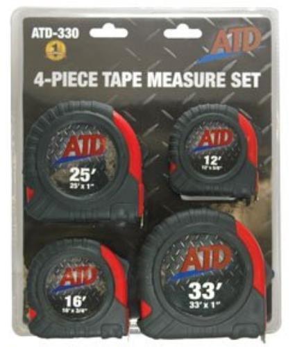 ATD Tools 330 4 Piece Measure