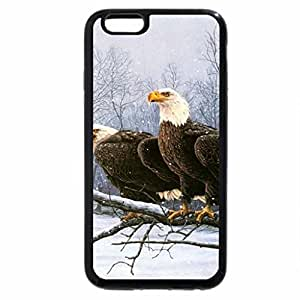 iPhone 6S Plus Case, iPhone 6 Plus Case, Eagle Pair at Snowy River
