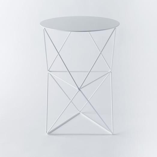 Eric Trine Double Octahedron Pedestal | west elm