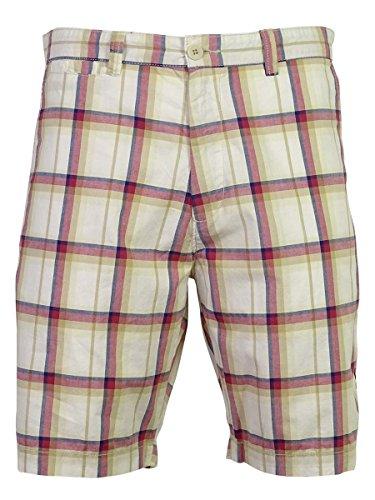 - Club Room Men's Plaid Pattern Multi Color Shorts (Sandstone, 36)