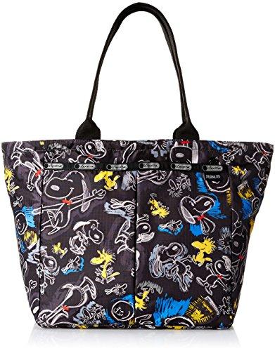 lesportsac-x-peanuts-everygirl-tote-handbag-chalkboard-snoopy