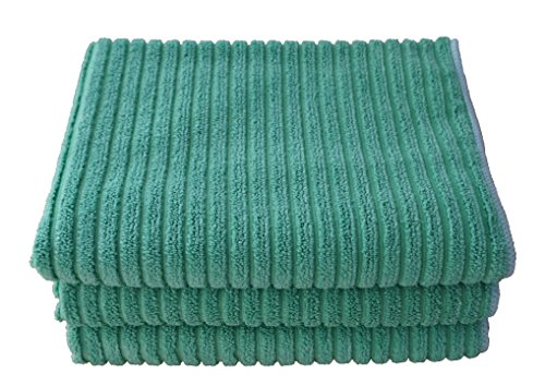 8 Pack Ivory EuroCafe Waffle Weave Terry Kitchen Towels 16x28 100/% Ringspun 2 Ply Cotton Highly Absorbent Low Lint Cotton Craft Multi Purpose Bar Mops Hand Towel Professional Grade 400 Grams