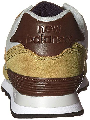 New Balance Mens Ml574 Beach Cruiser Pack Classic Sneaker Verde Oliva