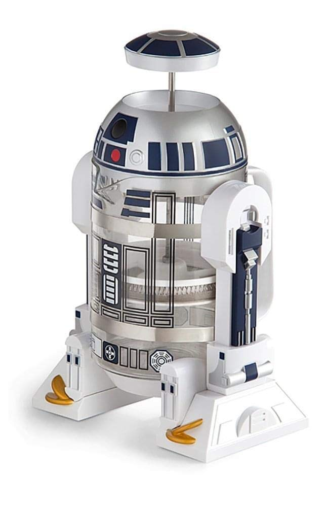 2253d3c88486 Amazon.com  ThinkGeek Star Wars Coffee Press R2D2 Limited Edition 4 Cup  French Press - Includes Glass Carafe
