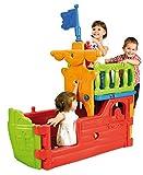 Best ECR4kids Indoor Toys - ECR4Kids Indoor/Outdoor Buccaneer Play Boat with Pirate Flag Review