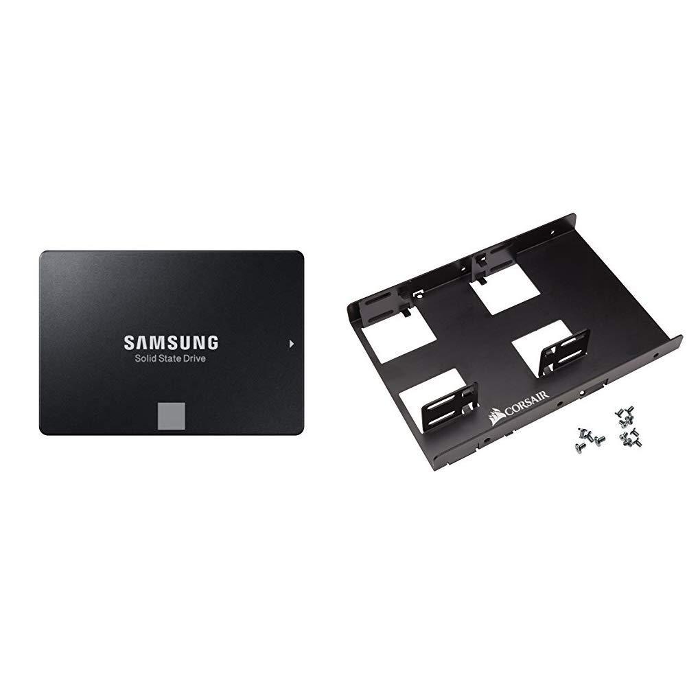 SSD 2TB SATA Samsung 860 EVO 2 TB 2.5in MZ 76E 2TB/AM & Cors