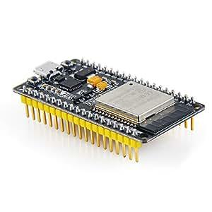 MakerFocus ESP32 Development Board WiFi Bluetooth Dual Cores Ultra Low Power Consumption ESP-32