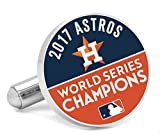 MLB Houston Astros 2017 World Series Champions Cufflinks, Officially Licensed