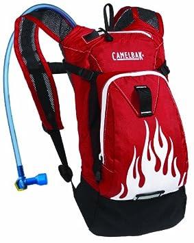 CamelBak Mini Mule Rojo - Mochila de hidratación: Amazon.es: Deportes y aire libre