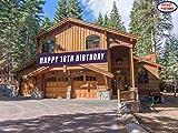 Blue Happy 18th Birthday Banner, Large 18th