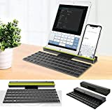 Universal keyboard for iPad 9.7 2018/2017, iPhone X/Samsung Galaxy S9 Plus/S9, Foldable Mini Bluetooth Keyboard for Android, IOS, Windows Devices (Universal(Android, IOS, Windows Devices), Green)