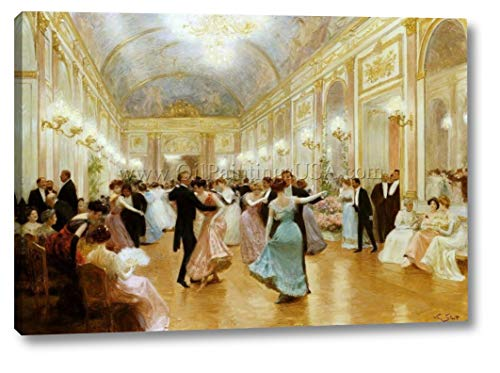 an Elegant Soiree by Victor Gabriel Gilbert - 15