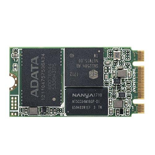 ADATA IM2S3334 128 GB Industrial-Grade M.2 2242 NGFF 42mm SATA III 6Gb/s Internal Solid State Drive (IM2S3334-128GD) by ADATA