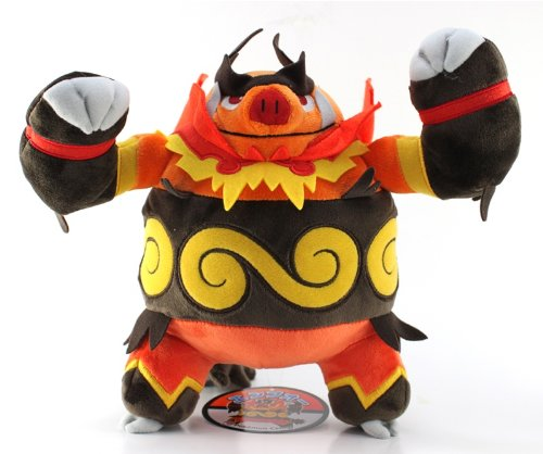 "Pokemon Center Pokedoll Plush Doll - 11"" - Enbuoh/Emboar"