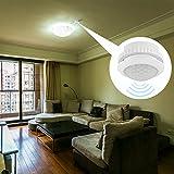 ALLOMN 110V-220V PIR Motion Sensor Light