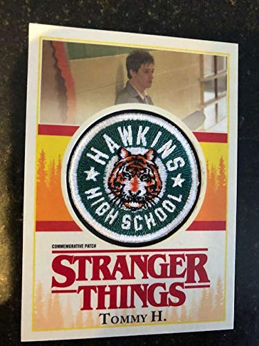 2018 Topps Stranger Things Season 1 Commemorative Patch NonSport #P-TH Tommy H. Hawkins High School Official Netflix Series Trading ()