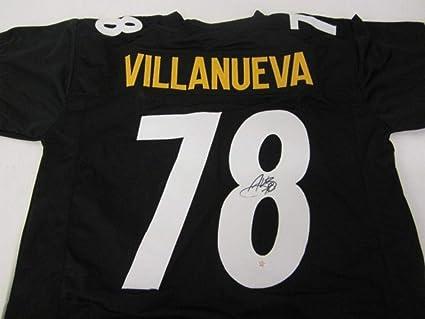 alejandro villanueva signed jersey