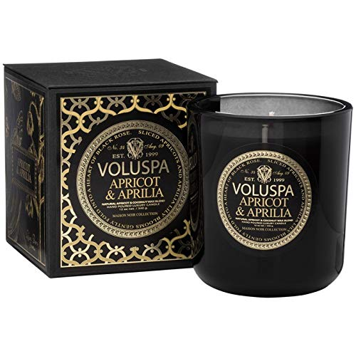 (Voluspa Apricot and Aprilia Classic Maison Candle, 12 Ounce )