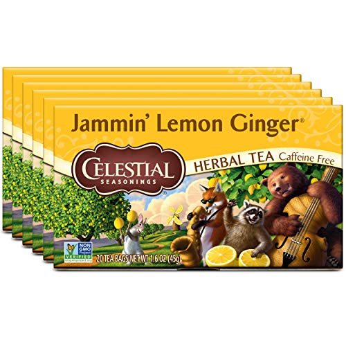 Celestial Tea, Jammin' Lemon 20 Count