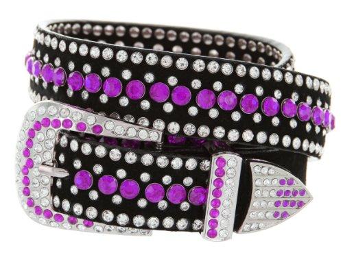 Purple Stud Belt - 5