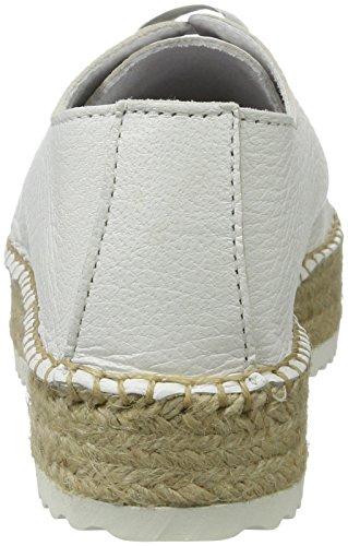 242 476 Espadrillas Bianco White BLACK Donna Basse qTFv4FzO