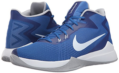 Nike Nike Zoom Evidence – Scarpe, Uomo, Blu – (Game Royal/White-Wolf Grey)