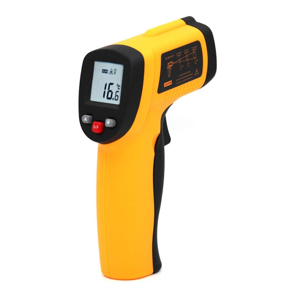 ALLCIAA Temperature Range: -50 To 420°C (-58°F To 788°F) Thermometer Infrared Thermometer Industrial High Temperature Infrared Thermometer (Size : 1407038mm)