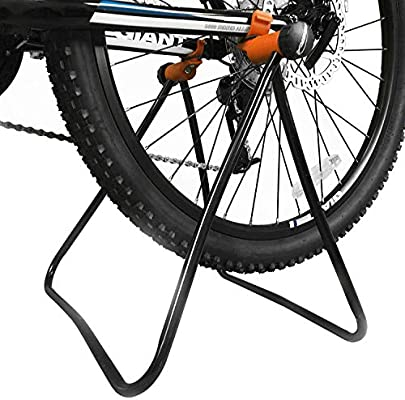 Alomejor Bicycle Repair Stand Quality Adjustable Height Easy Utility Bicycle Stand Foldable Mechanic Repair Rack Bike Stand for Bicycle Storage and Repairing