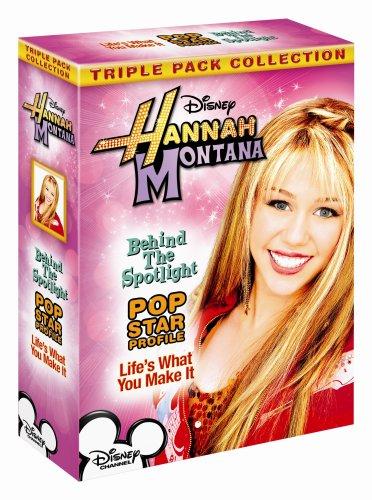 HANNAH MONTANA TRPL PK (DISNEY STORE) [DVD]