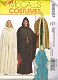 McCall's Patterns M5957 Misses'/Men's Costumes, All Sizes