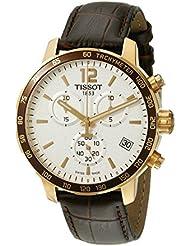Tissot Mens T0954173603700 Analog Display Swiss Quartz Brown Watch