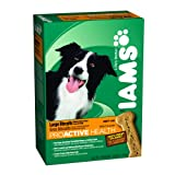 Iams Proactive Health Large Biscuits for Adult Dog, 2.6-Pound Boxes (Pack of 6), My Pet Supplies