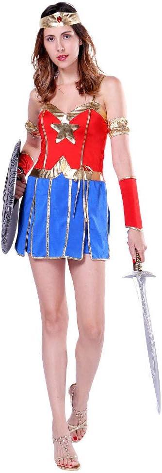CAGYMJ Vintage Halloween Dress Party Ropa De Mujer,Falda Cosplay ...